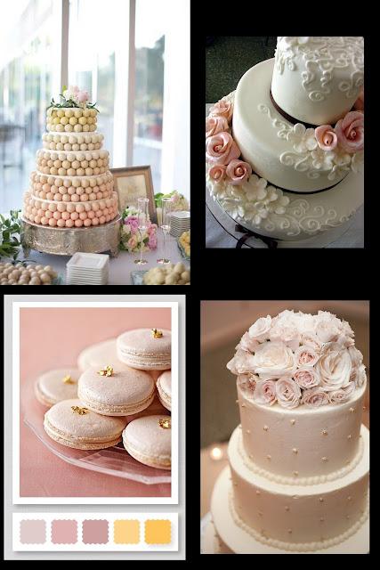 pink wedding-pink wedding cake- pink donut cake