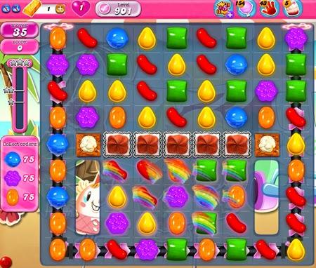 Candy Crush Saga 901