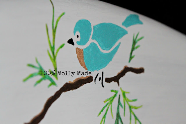 Hand Painted Bird