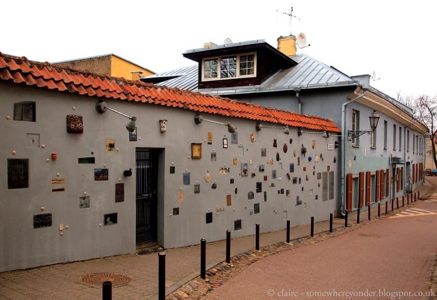 Literatų Street, Vilnius Lithuania