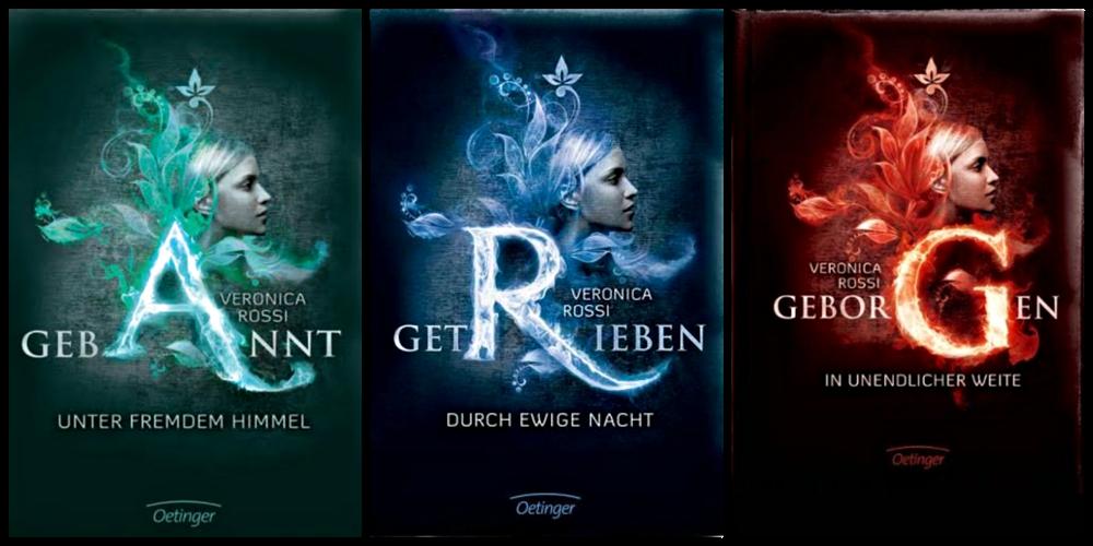 Gebannt Buchreihe Deutsches Cover - Let's Talk About