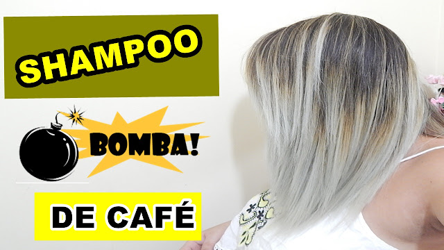 SHAMPOO BOMBA DE CAFÉ FAZ O CABELO CRESCER BEM RÁPIDO?