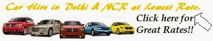 Car Hire in Delhi & NCR