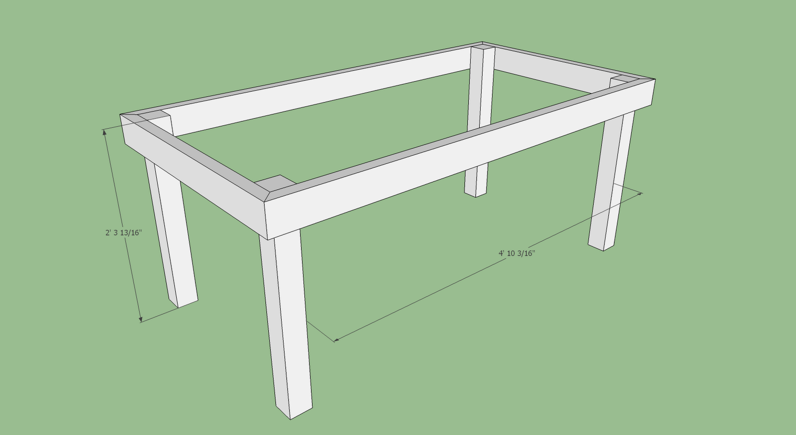 how to make table legs taller