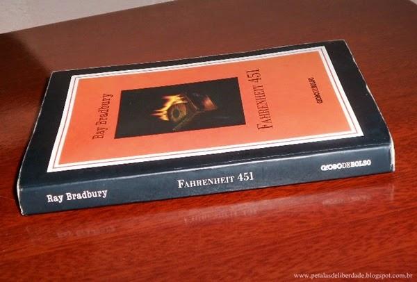 Resenha, premiada, livro, Fahrenheit 451, Ray Bradbury, resumo, crítica, trechos, sorteio, edição de bolso, capa, Editora Globo