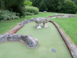 Crazy Golf at the Charlton Lakeside Pavilion in Andover