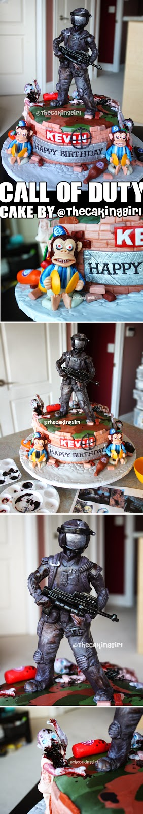 best call of duty cake