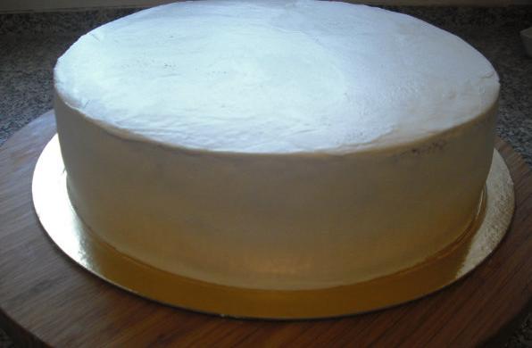 Рецепт крем чиз для выравнивания торта рецепт