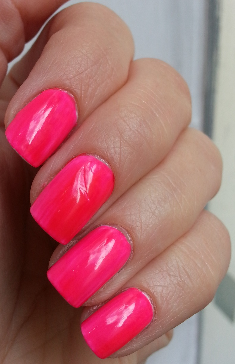 Pie\'s Eyes & Other Sparkly Stories...: Island Girl - Neon Pink ...