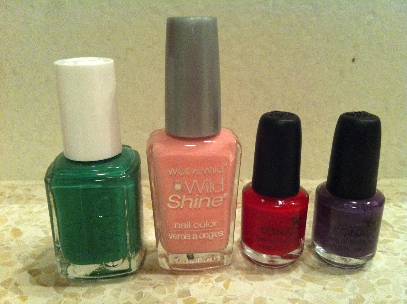 nailpolishes essie wild and shine konad