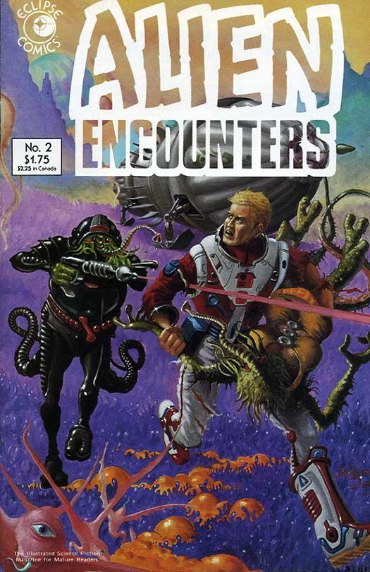 Reading Room ALIEN ENCOUNTERS Monster Of Planet Og