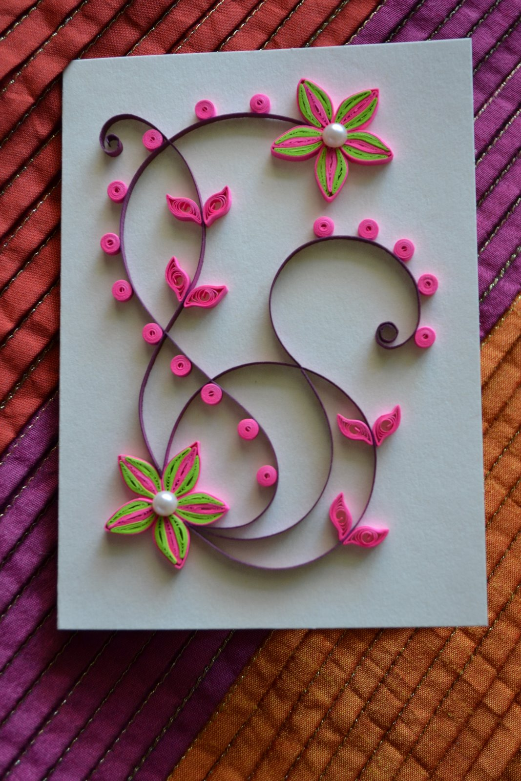 Quilling ideas happy holidays for Quilling designs
