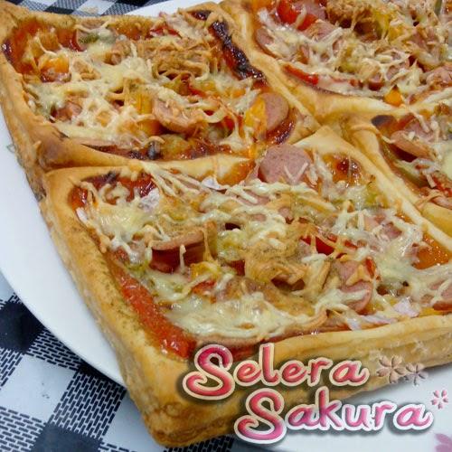 Pizza Pastry Mudah dan Enak