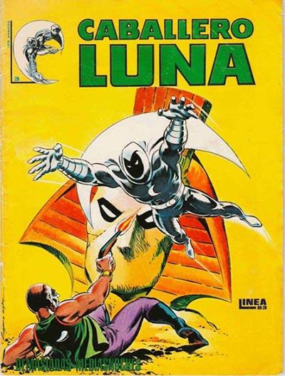 Portada del Caballero Luna Nº 3 Ediciones Surco