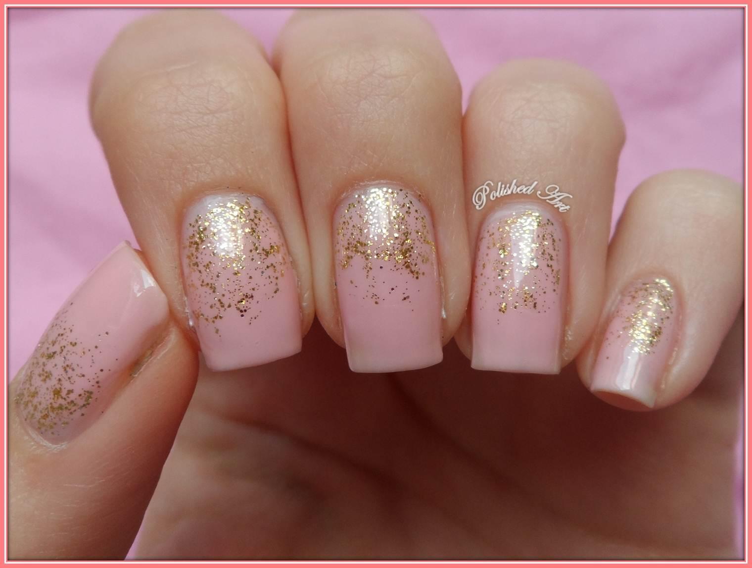 Subtle Reverse Glitter Gradient With Nails Inc Elizabeth