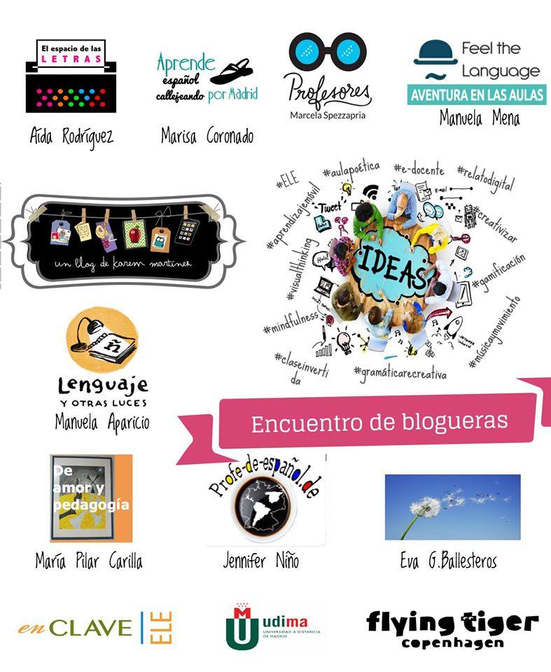 Encuentro de blogueras, 9 de julio 2016