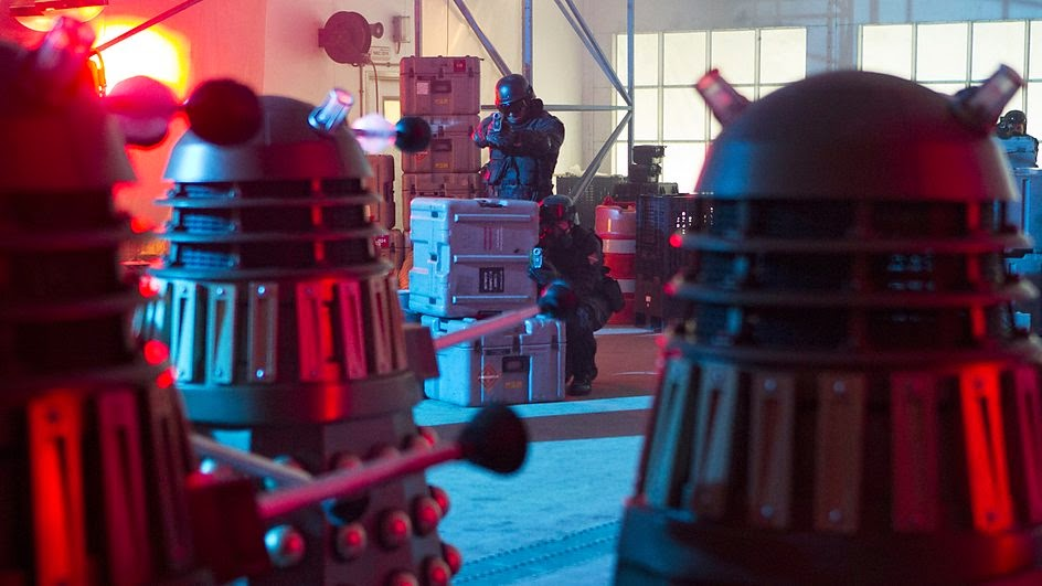 The Daleks begin their onslaught