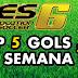 PES 6   TOP 5 GOLS DA SEMANA #2