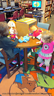 Tot School - Playing with Stuffed Animals