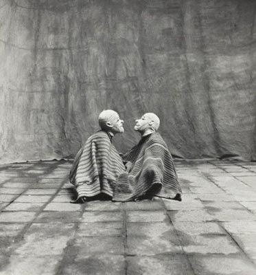 http://kvetchlandia.tumblr.com/post/90742421743/irving-penn-two-men-in-white-masks-cuzco