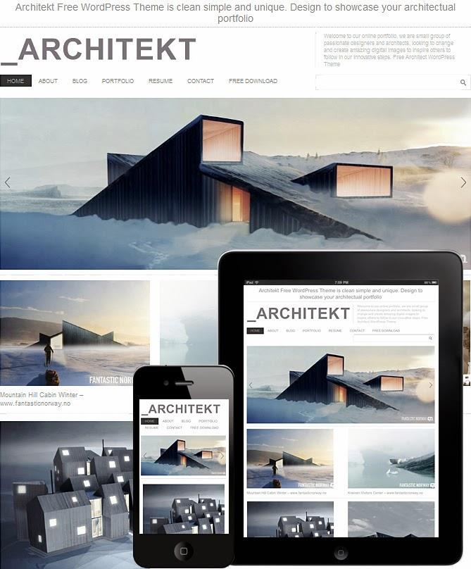 Architekt Theme Responsive