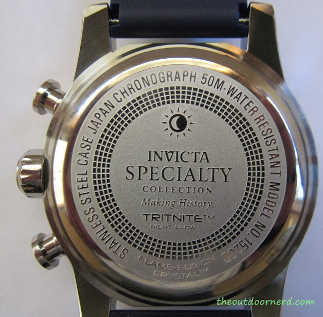 Invicta Men's 15200 Specialty Chronograph Watch - Closeup Of Case 3