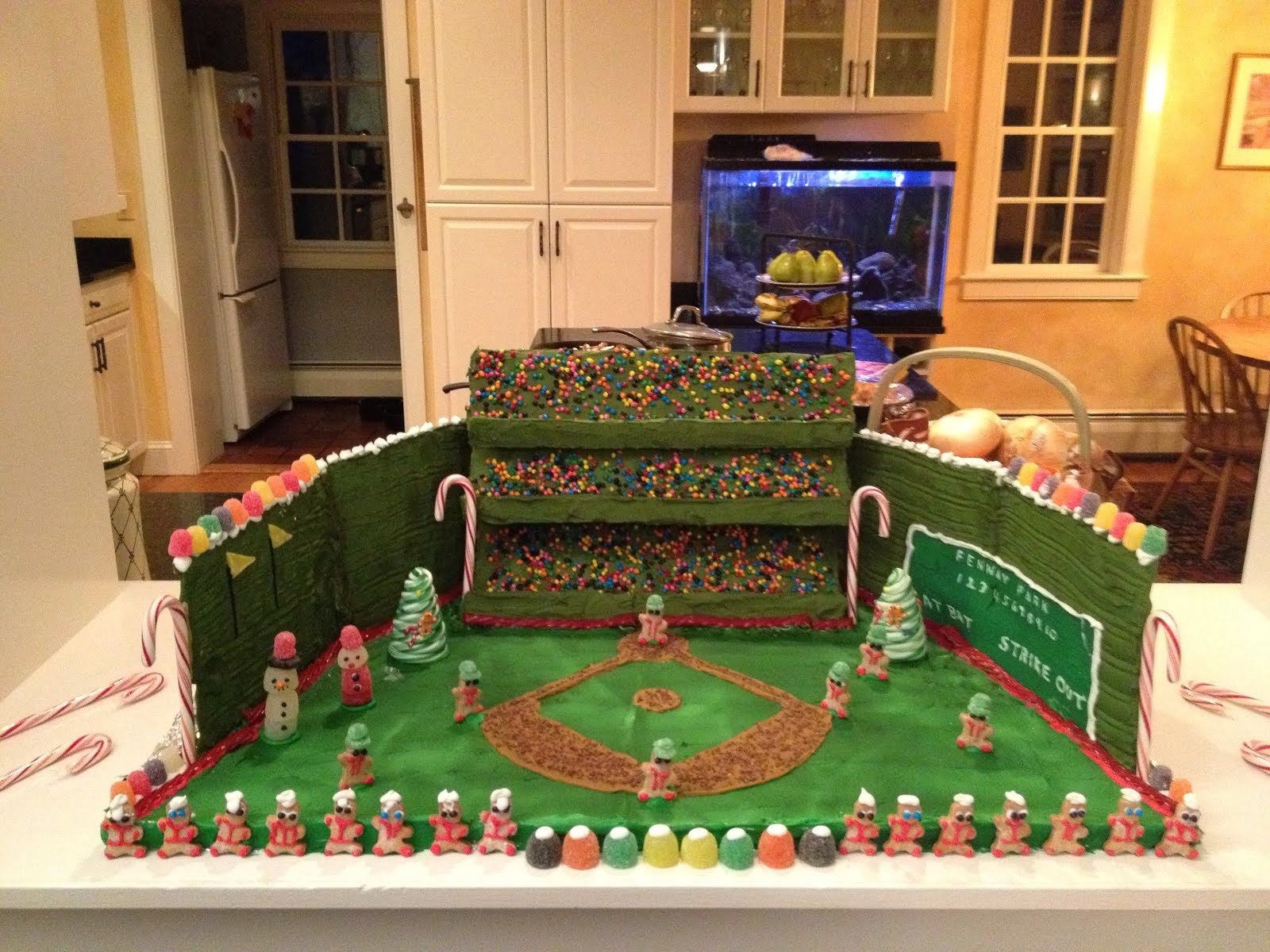Fenway Park in Gingerbread