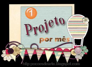 1 Projeto por mês