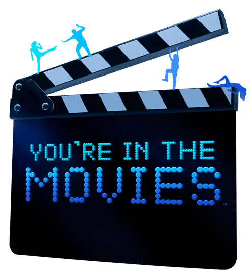 youre in the movies logo