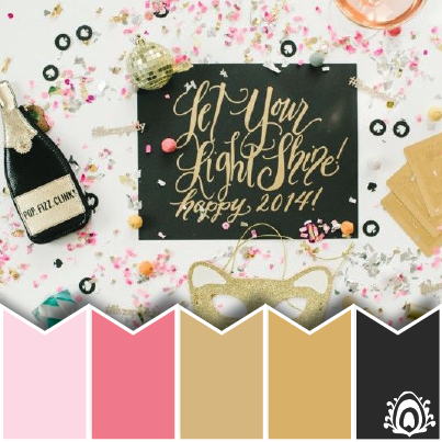 NEW YEAR WISHES COLOR PALETTE