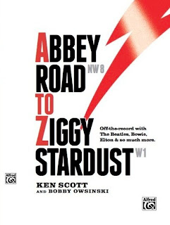 Abbey Road To Ziggy Stardust book cover from Bobby Owsinski's Big Picture production blog