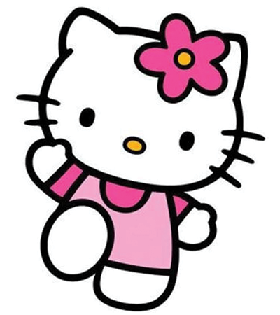Hello Kitty emoticon