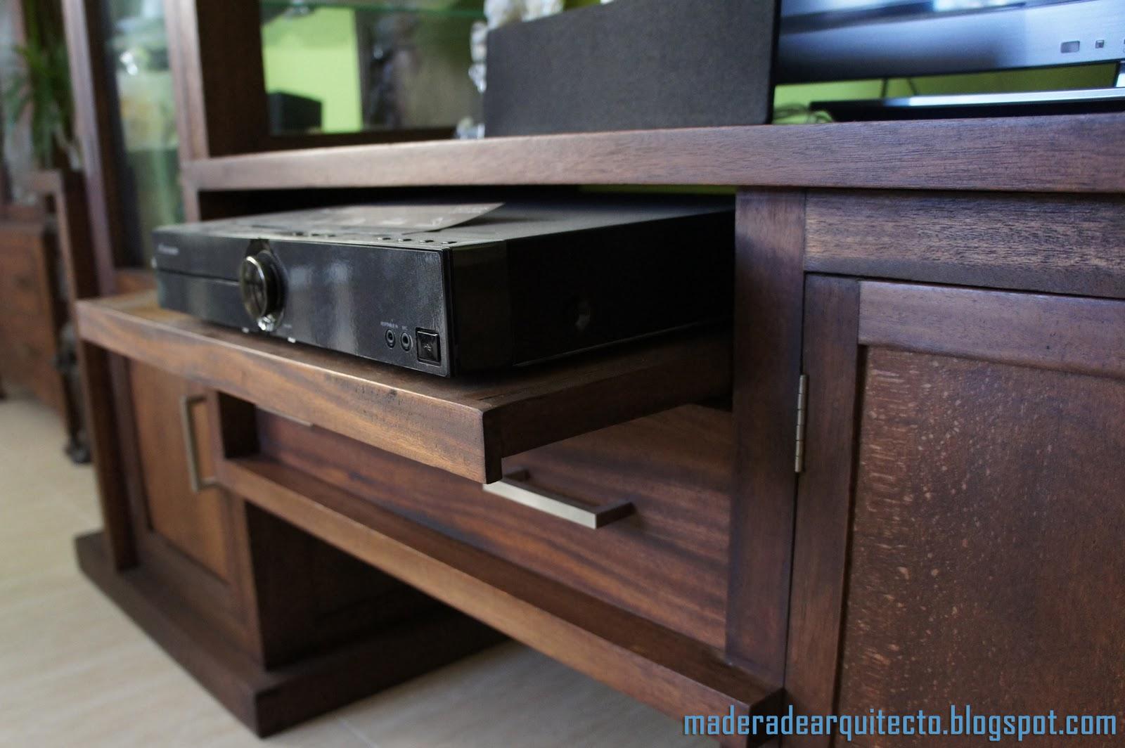 Madera de arquitecto dise o de muebles mueble para la for Balda muebles