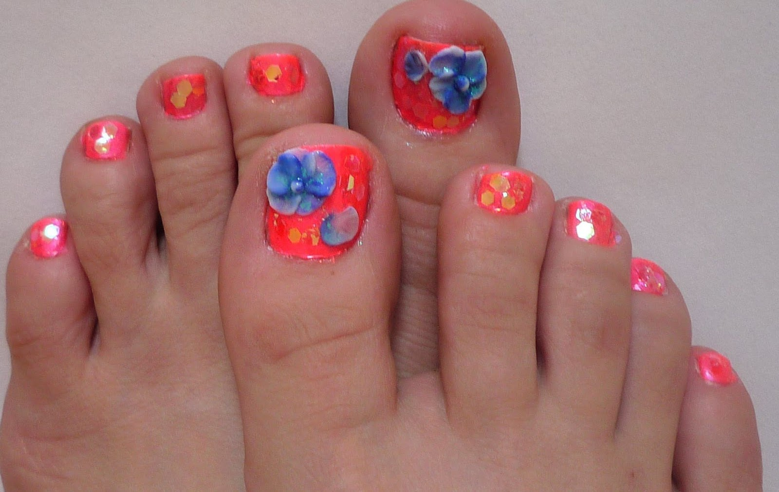 10 Amazing Nail Designs For Toes 2015