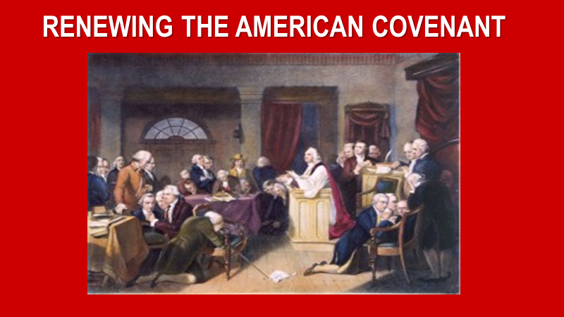 RENEWING THE AMERICAN COVENANT