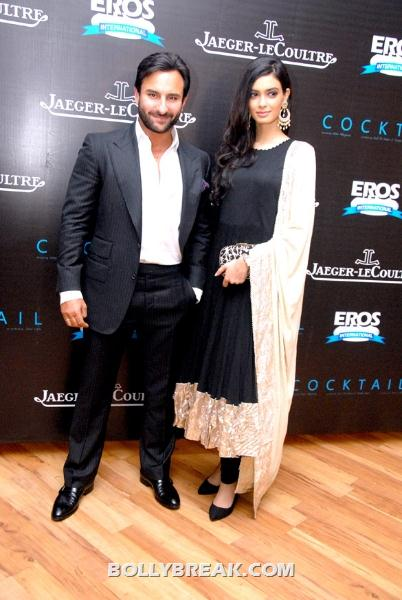 Diana Penty in salwar kameez - (4) - Diana Penty at imperial hotel with Saif Ali Khan