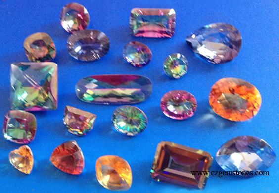 mystic cubic zirconia stones