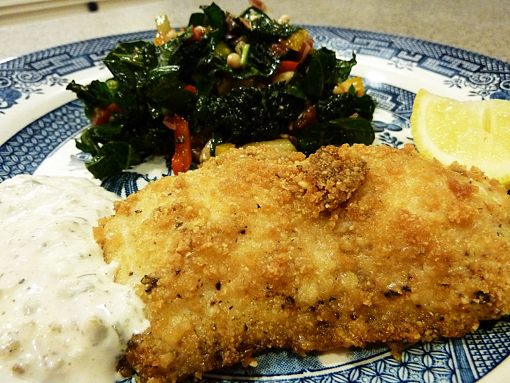Fluffy chix cook healthy oven fried fish rocks low carb for Carbs in fried fish