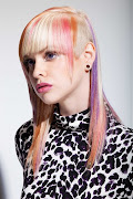 Women Fashion Punk Hair Trend Color