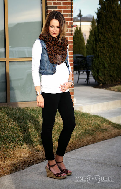 Maternity Style with ONE little MOMMA