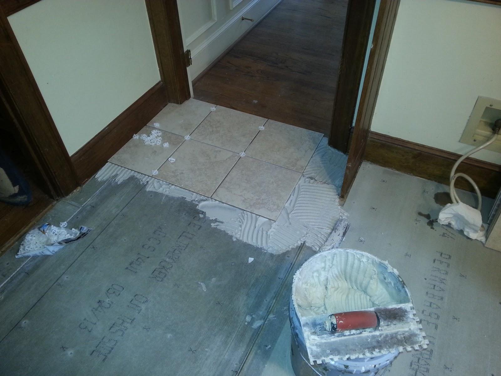 Remodel Photos: Kitchen Floor: Removal of linoleum floor and ...