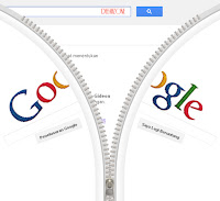 Gideon Sunback dan Resleting Google (Search)