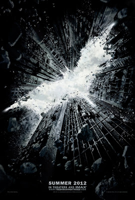 The Dark Knight Rises Teaser Theatrical One Sheet Movie Poster