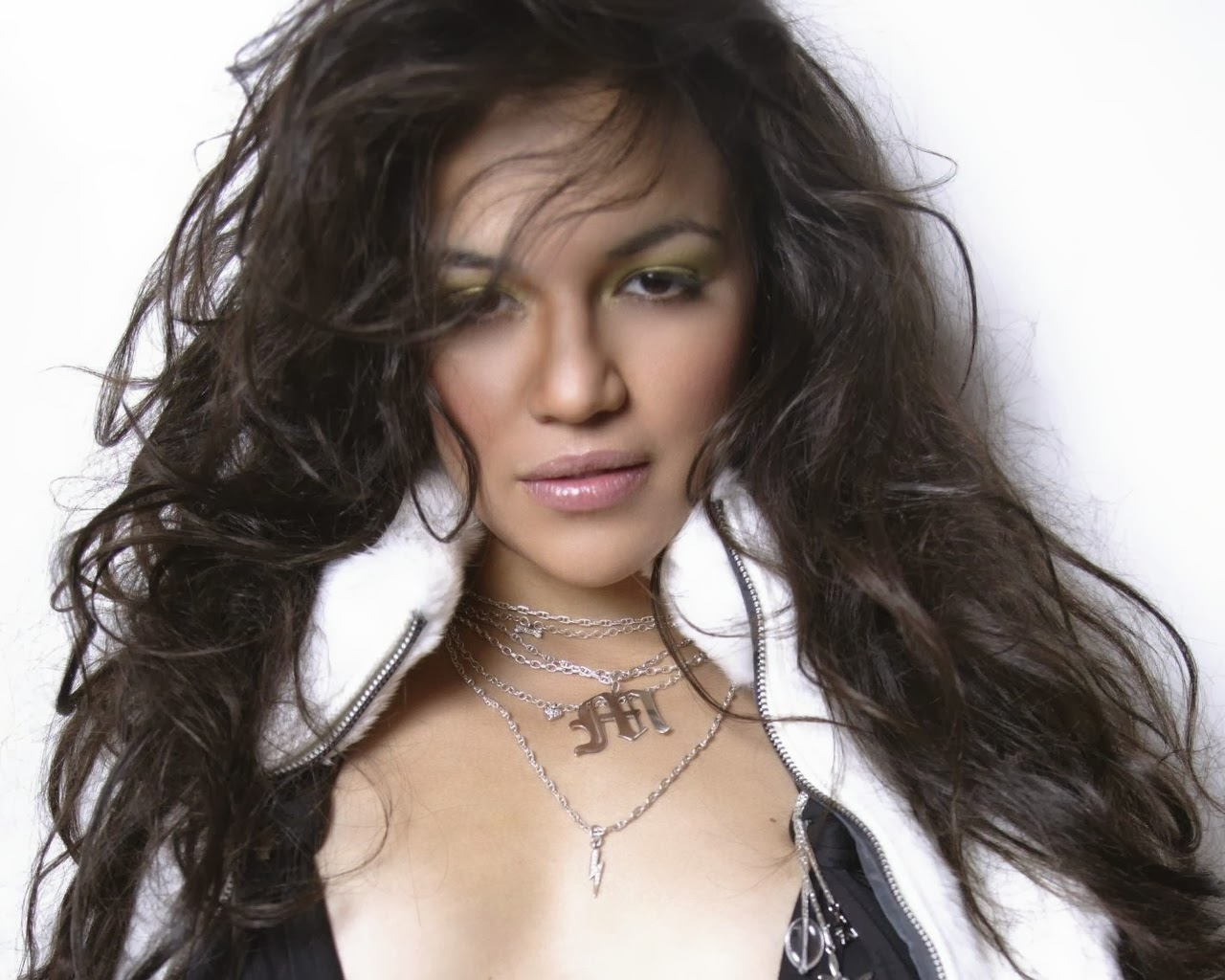 Michelle Rodriguez During Modeling 11
