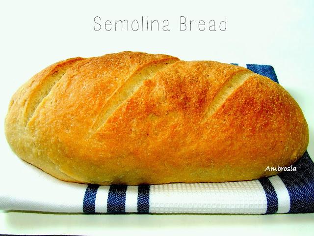 semolina bread (vegan)