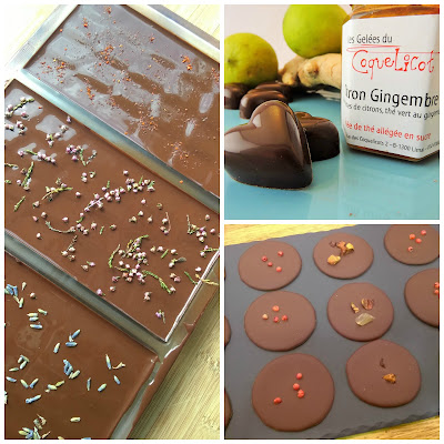 Chocolats Les ateliers sucrés