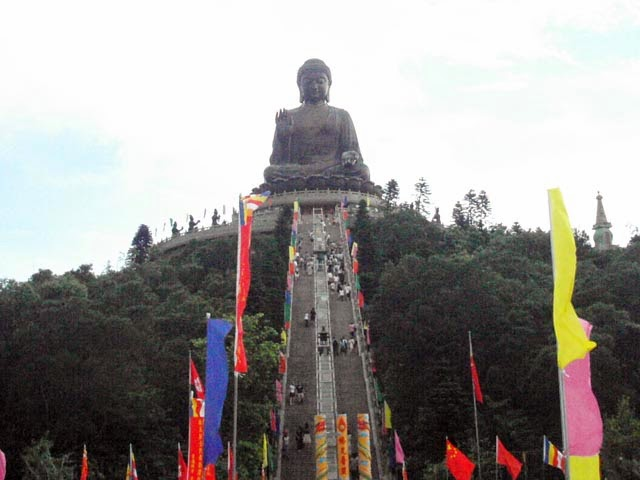 Ngong Ping Village dan Giant Buddha