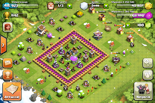 Clash of Clans municipio lvl 8
