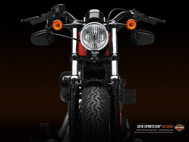 New Harley Davidson Forty-Eight(48)Motor Cycle_Wallpapers