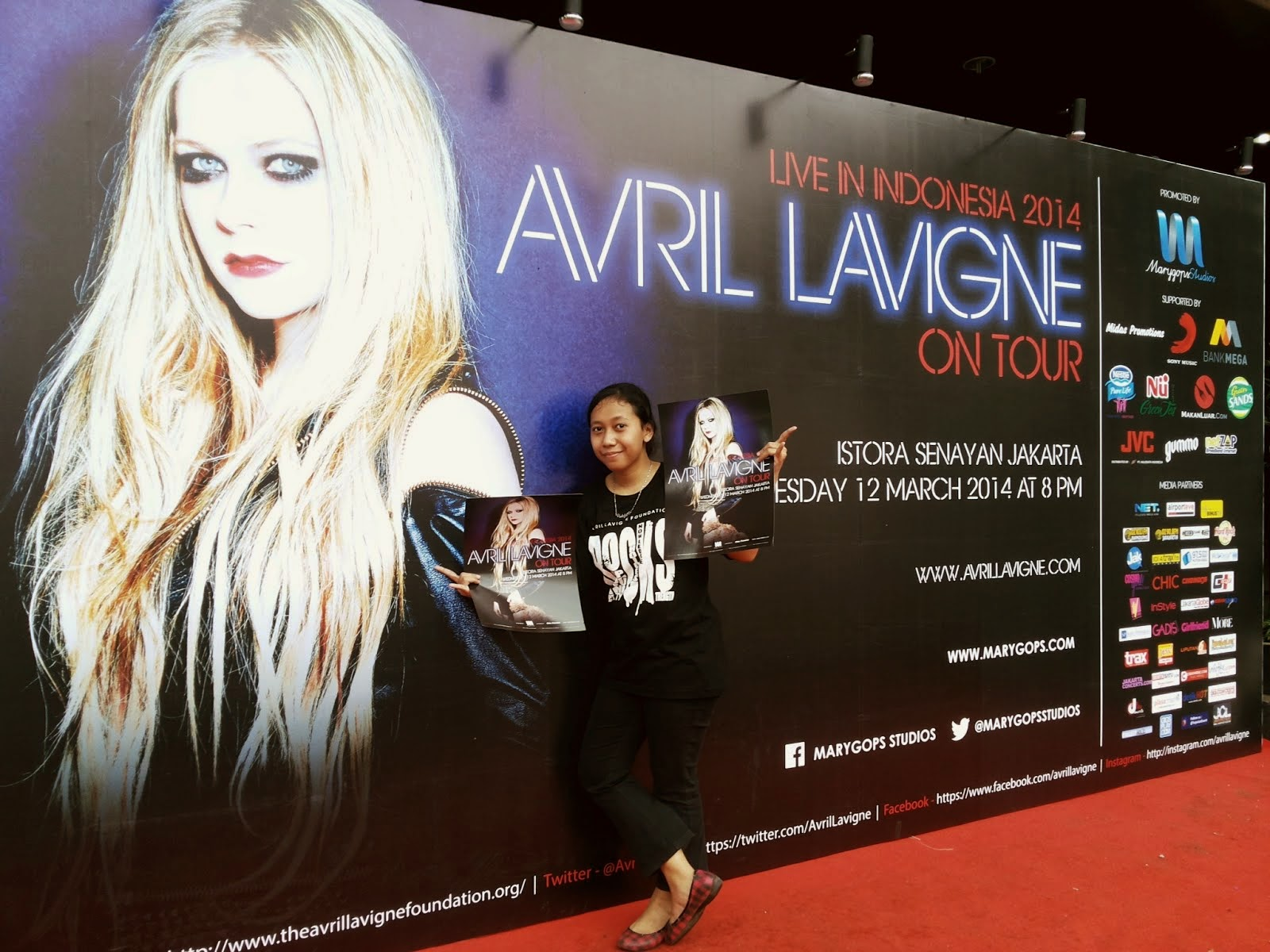 Me with Avril ;D